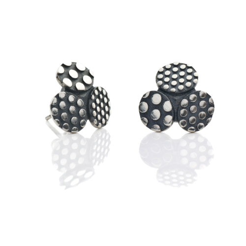 "Stud earrings ""Dotted TRIO"""