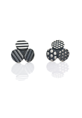 "Stud earrings ""Mix TRIO"""