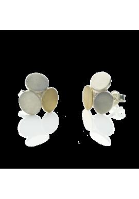 """Stud earrings """"Minimalist TRIO"""""""