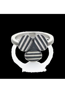 """Ring """"Sriped TRIO"""""""