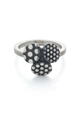 "Ring ""Dotted TRIO"""