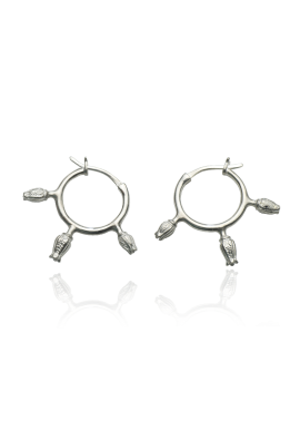 "Hoop earrings ""Buds"""