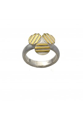 "Ring ""Striped TRIO"""