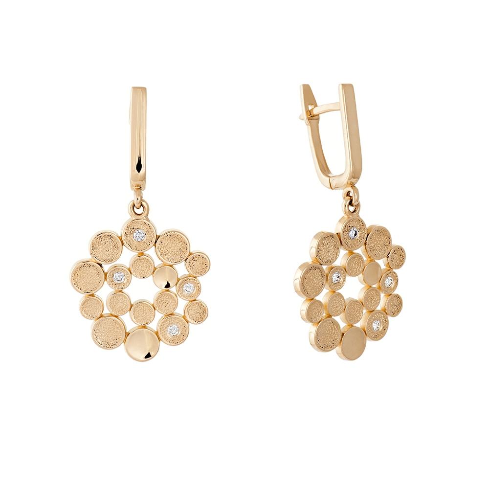 vakariniai aukso auskarai auste jewellery
