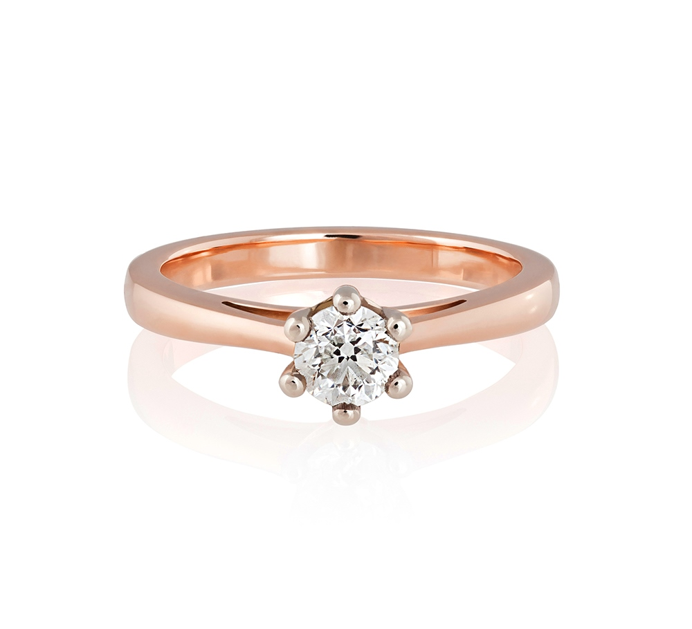 clasical ring engagement auste jewellery