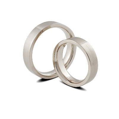 balto aukso vestuvinai žiedai auste jewellery